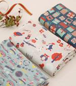 最高級DTP加工-20でき平織り)クリスマスプレゼント(3種)