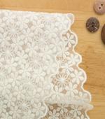 最高級クリスタル刺繍)小さな花(2種)