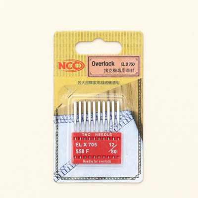 NCC家庭用ミシン針(オボロク用)-2種