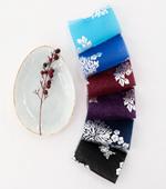 韓服生地韓千)の大ヒット生地 - 銀箔花と蝶6color