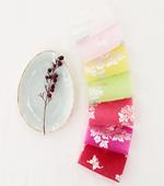 韓服生地韓千)の大ヒット生地 - 銀箔花と蝶7color