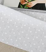 大幅-60できるアサイ)フラワーパンチング刺繍4種