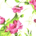 綿混)レディフラワー(ピンク)[1272]