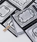 カット紙)英語レタリングカード