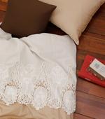 大幅 - 最高級綿レース刺繍)ロマンチックヴェルディ(2種)
