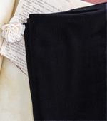 大幅 - 面ベルベット)ブラック面のベルベット
