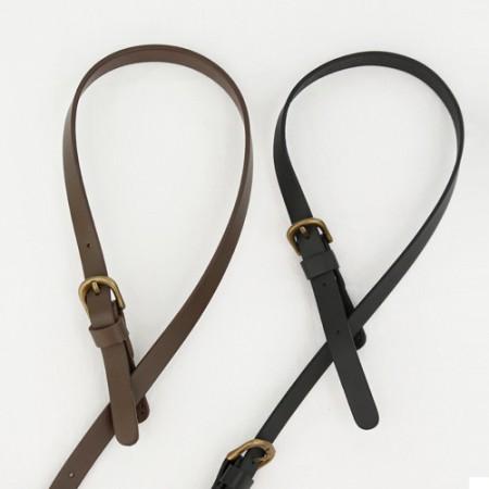 バッグのひも70cm)バックルスタイルのショルダーハンドル(2種)