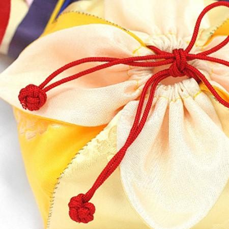 2麻)伝統的なポケット装飾ストラップ(2種)