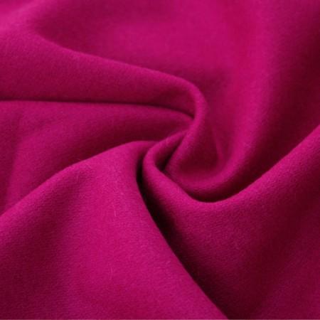 大幅 - ウール混)ロマンチックモダン(赤紫色)