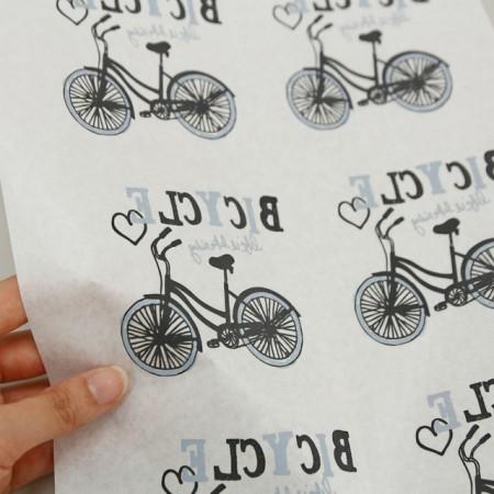 紙転写紙)自転車