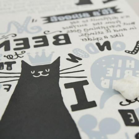 紙転写紙)猫ランド