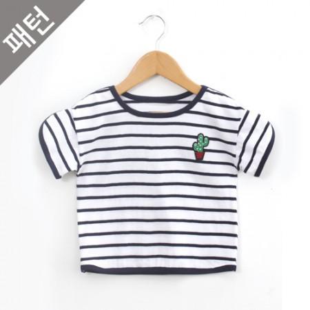 パタン - 子供)子供ティーシャツ[P889]