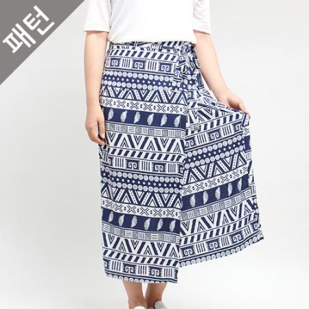 パタン - 子供)女性スカート[P657]