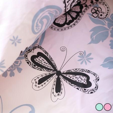オックスフォード)蝶模様(2種)