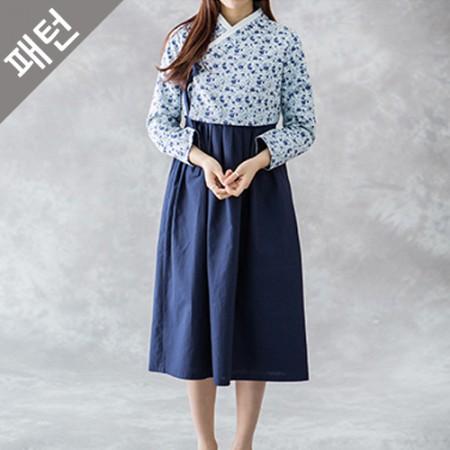 パタン - 女性)韓服[P920]