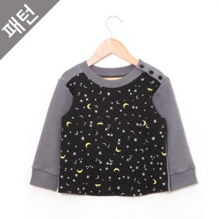 パタン - 子供)ティーシャツ[P852]