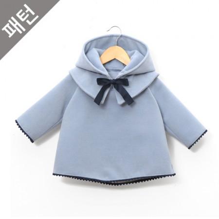 パタン - 子供)子供コート[P847]