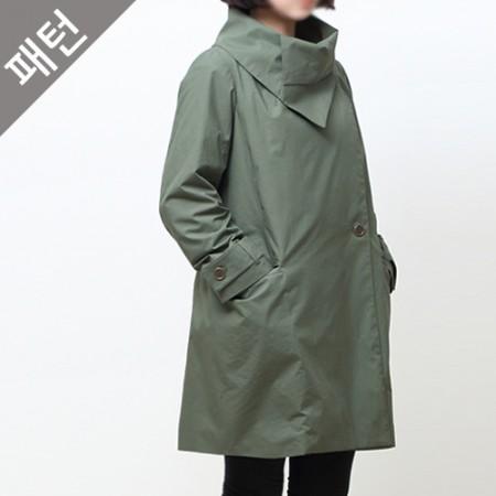 パタン - 女性)女性ジャケット[P528]