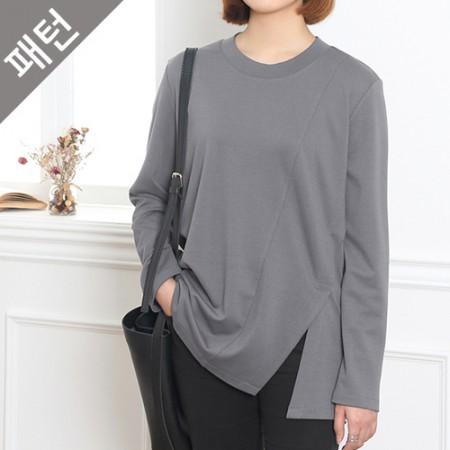 パタン - 女性)女性ティーシャツ[P764]