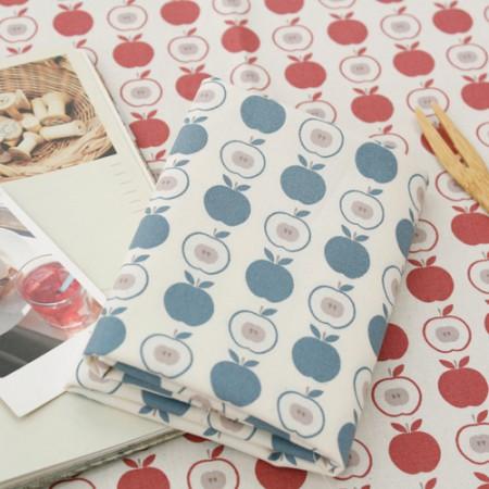 20数平織り生地)アップルソーダ(2種)