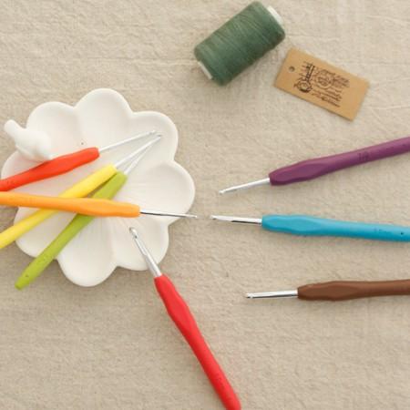 サラシリコン編み用かぎ針(8種)