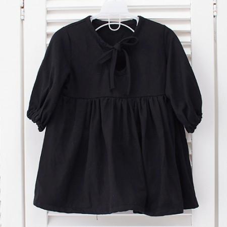 大幅 - コットン+レーヨン)ブラックスーツギャバジン - 純粋な