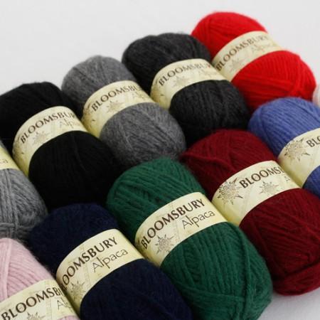 糸)ブルームズベリーアルパカ(11種)