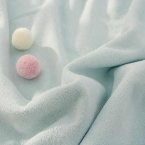大幅 - テリータオル)綿菓子ブルー