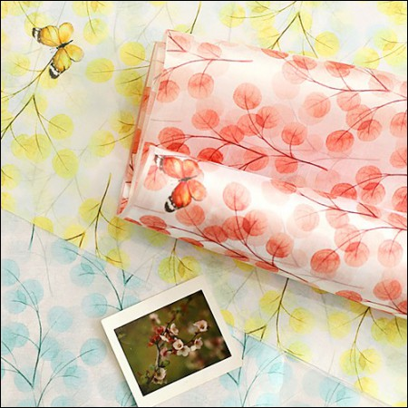 大幅 - 韓服まで)蝶の香り(3種)
