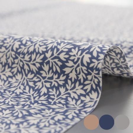 20数平織り)雪リーフ(3種)