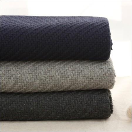 大幅 - アクリル混紡)ニット編み(3種)