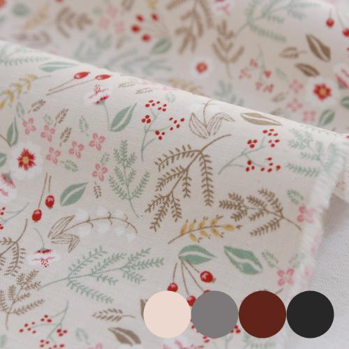 大幅-30でき平織り)ヴィンテージガーデン(4種)