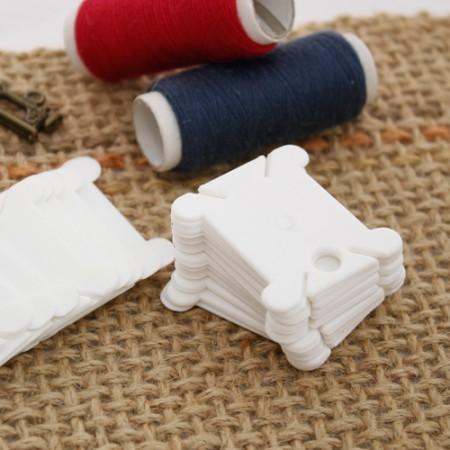 フランスの刺繍プラスチック失敗セットボビンセット(25個入り)