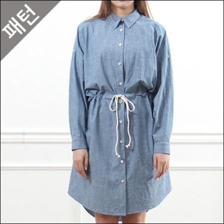 パタン - 女性)女性シャツ[P853]