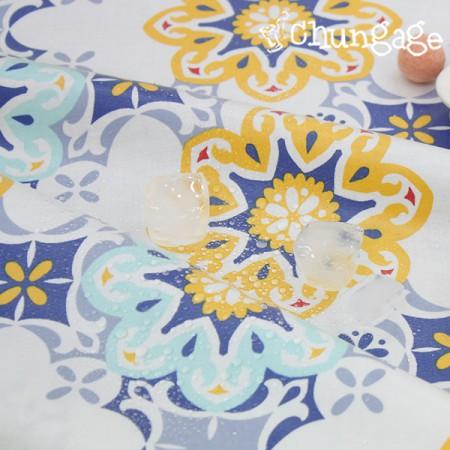 防水布、非毒性TPUラミネート布)ブルートパーズ