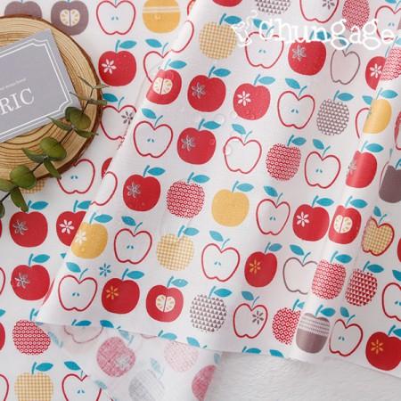 防水布、非毒性TPUラミネート布)アップルパイ