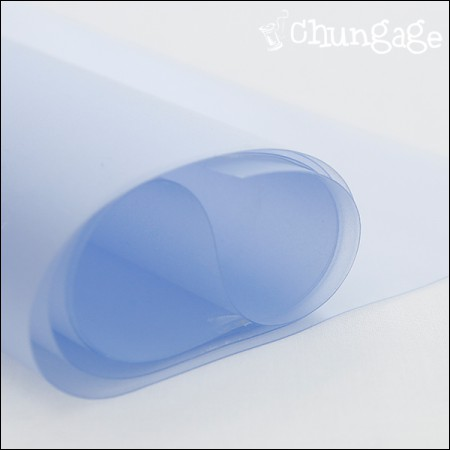 PVC防水布、ビニール生地半透明0.3mm 1/2麻PVCバッグを作る材料