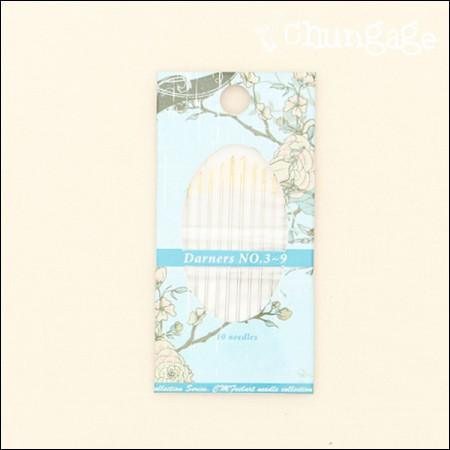 刺繍針セットダノ針(立体刺繍)3〜9号セット
