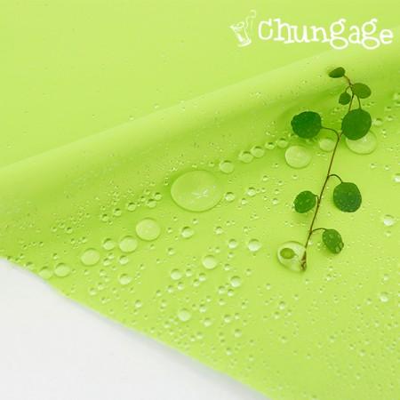 大幅 - 防水布)サニーグリーン