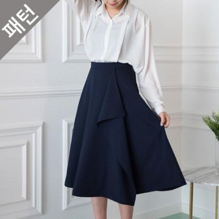 パタン - 女性)女性のスカート[P1049]