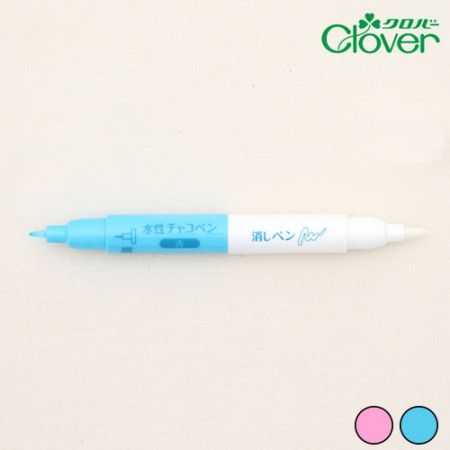 クローバーツイン水性ペン&消しゴムペン(2種)
