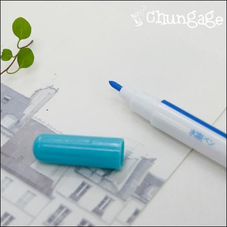 フランスの刺繍水性ペン水溶性ペン青色