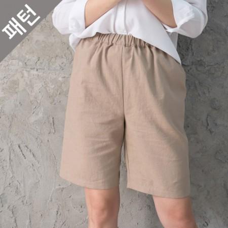 服のパターンの衣装パターン女性パンツ[P1117]