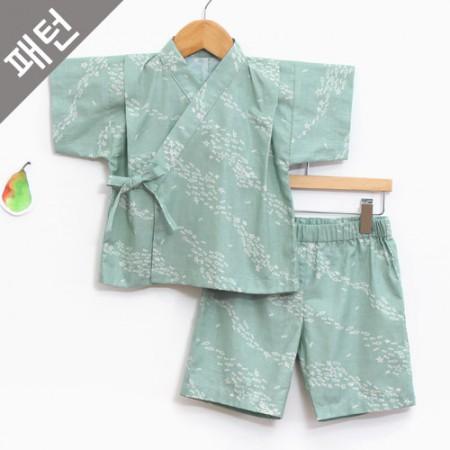 服のパターンの衣装パターン子供上下セット[P1108]