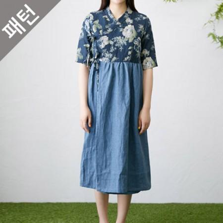 服のパターンの衣装パターン女性の韓服[P1121]