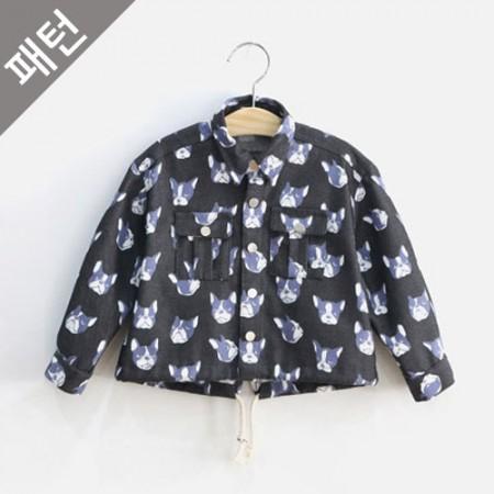 服のパターンの衣装パターン子供ジャンパー[P754]