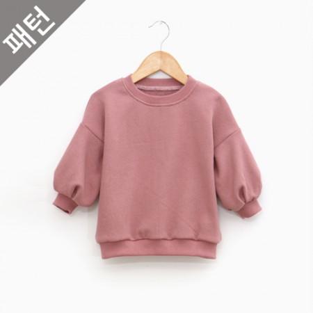 服のパターンの衣装パターン子供のTシャツ[P1041]