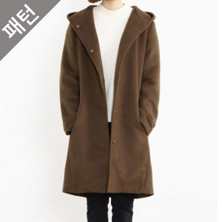 服のパターンの衣装パターンレディースコート[P827]