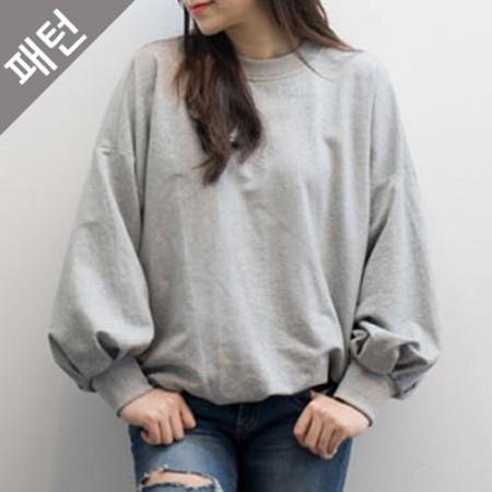 服のパターンの衣装パターン女性のTシャツ[P1040]