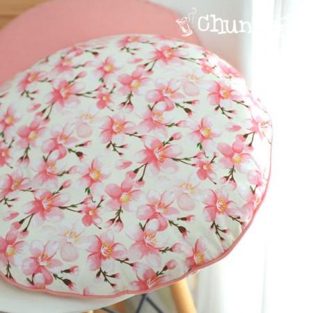 最高級DTP20こと平織り)ロマンチック桜